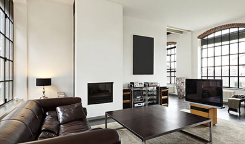 Converted warehouse apartment